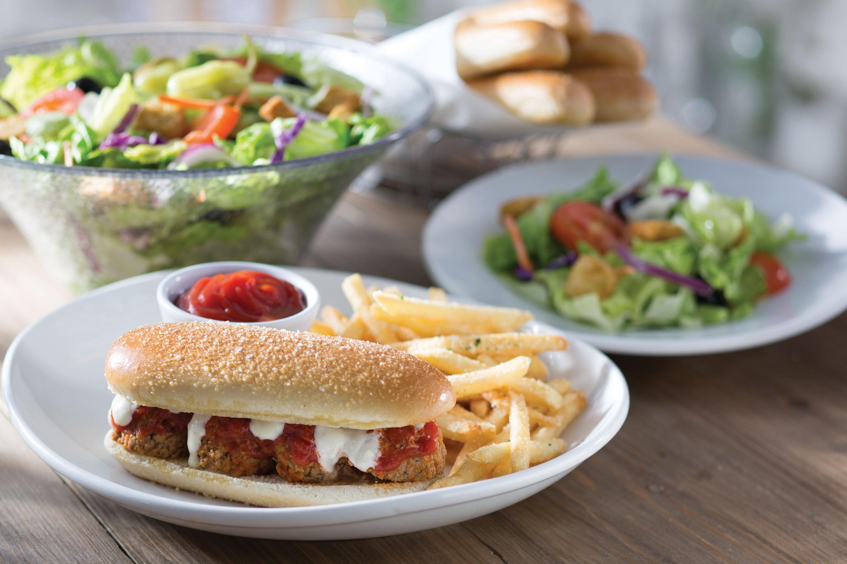 Current Olive Garden Menu: Olive Garden Launches Breadstick Bun Sandwiches
